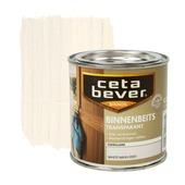 CetaBever binnenbeits transparant zijdeglans white wash 250 ml