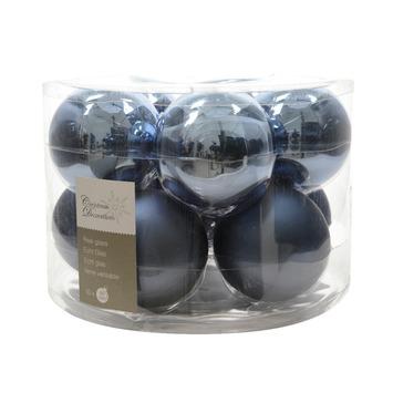 Kerstbal Glas Blauw Jeans 10 Stuks Kopen Karwei