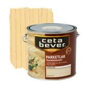 CetaBever parketlak transparant zijdeglans blank 2,5 l