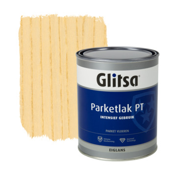 Glitsa parketlak eiglans blank intensief gebruik 1 l