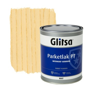 Glitsa parketlak mat blank intensief gebruik 1 l