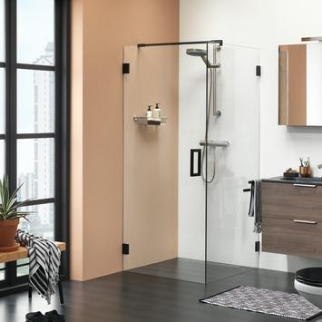 Get Wet Douchewand voor Swingdeur I AM 90x200 cm Zwart