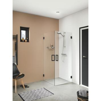 Get Wet Swingdeur voor Hoekinstap I AM 90x200 cm Zwart