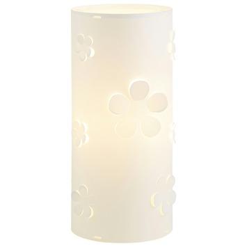 KARWEI tafellamp bloem wit