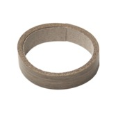 Strijkband bruin eiken 20 mm (rol 2,5 m)