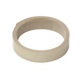 Strijkband wit eiken/vanille eiken 20 mm (rol 2,5 m)