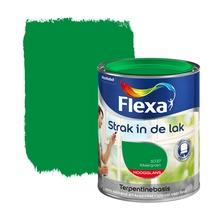 Flexa Strak in de Lak hoogglans kikkergroen 750 ml