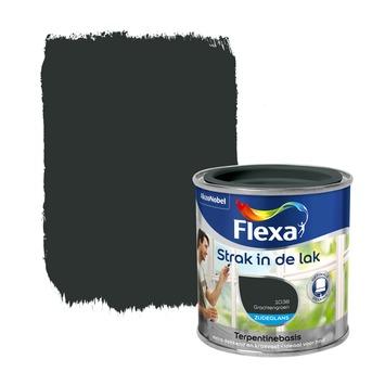 Flexa Strak in de Lak zijdeglans grachtengroen 250 ml