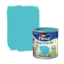 Flexa Strak in de Lak zijdeglans azuurblauw 250 ml