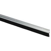 Handson tochtstrip met borstel breed aluminium 250 cm