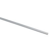Handson tochtstrip opbouw aluminium 231,5 cm met rubber kraal