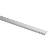Handson slijtstrip aluminium 93 cm met rubber lip