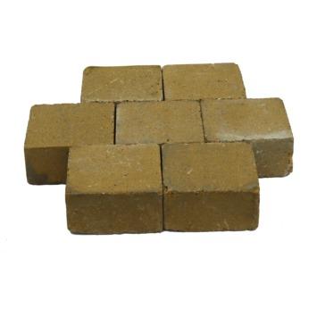 Trommelsteen Beton Geel 14x14x7 cm - 45 Stuks / 0,88 m2