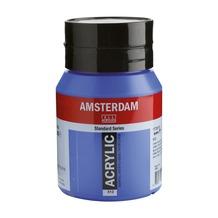 Amsterdam verf acrylverf kobaltblauw (ultram.) flacon 500ml