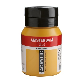 Amsterdam verf acrylverf gele oker flacon 500ml