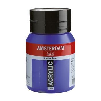 Amsterdam verf acrylverf ultramarijn flacon 500ml