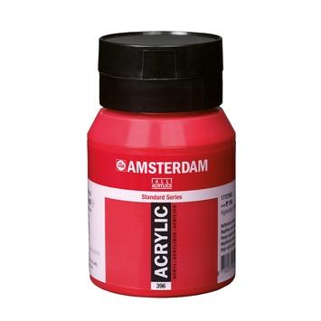 Amsterdam verf acrylverf naftolrood middel flacon 500ml