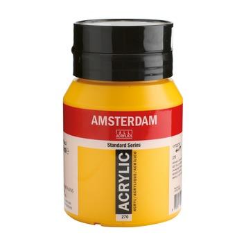 Amsterdam verf acrylverf azogeel donker flacon 500ml