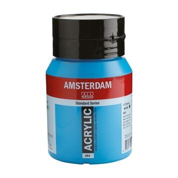 Amsterdam verf acrylverf briljantblauw flacon 500ml