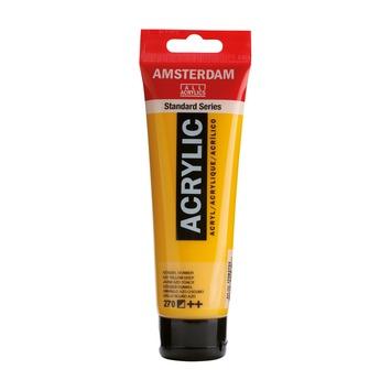 Amsterdam verf acrylverf azogeel donker 120ml