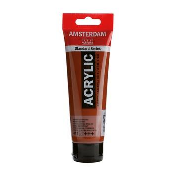 Amsterdam verf acrylverf sienna gebrand 120 ml