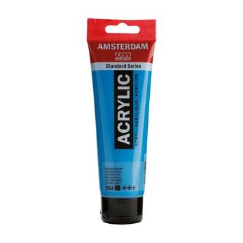 Amsterdam verf acrylverf briljantblauw 120 ml