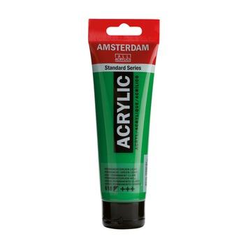 Amsterdam verf acrylverf permanentgroen licht 120 ml