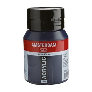 Amsterdam verf acrylverf pruisischblauw (phtalo) flacon 500ml