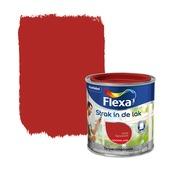 Flexa Strak in de Lak hoogglans signaalrood 250 ml