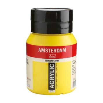 Amsterdam verf acrylverf primairgeel flacon 500ml