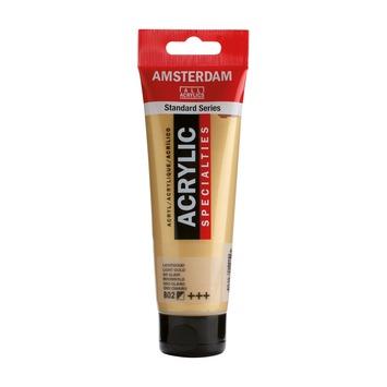 Amsterdam verf acrylverf lichtgoud tube 120ml