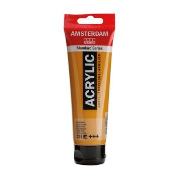 Amsterdam verf acrylverf goudoker tube 120ml