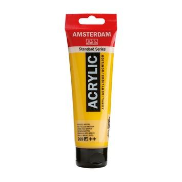 Amsterdam verf acrylverf azogeel middel 120ml