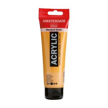 Amsterdam verf acrylverf goudgeel tube 120ml