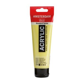 Amsterdam verf acrylverf nikkeltitaan geel 120 ml