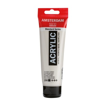 Amsterdam verf acrylverf titaanbuff donker 120 ml