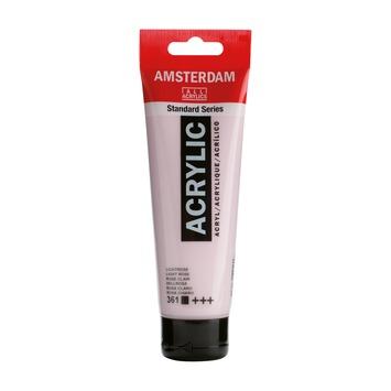 Amsterdam verf acrylverf lichtrose 120 ml