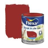 Flexa Strak in de Lak zijdeglans signaalrood 750 ml