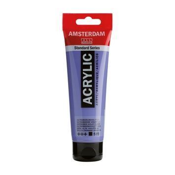 Amsterdam verf acrylverf ultramarijnviolet licht 120 ml