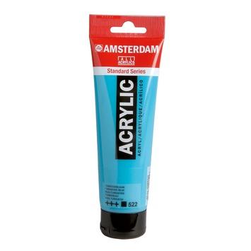 Amsterdam verf acrylverf turkooisblauw 120 ml