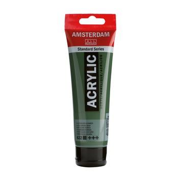 Amsterdam verf acrylverf olijfgroen donker 120 ml