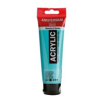 Amsterdam verf acrylverf turkooisgroen 120 ml