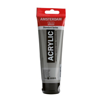 Amsterdam verf acrylverf neutraalgrijs 120 ml