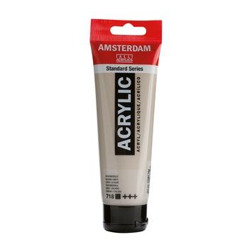 Amsterdam verf acrylverf warmgrijs 120 ml