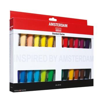 Amsterdam verf acrylverfset 20ml (24 tubes)