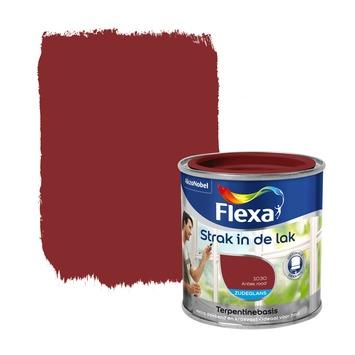 Flexa Strak in de Lak zijdeglans antiekrood 250 ml