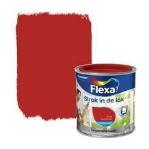 Flexa Strak in de Lak zijdeglans signaalrood 250 ml
