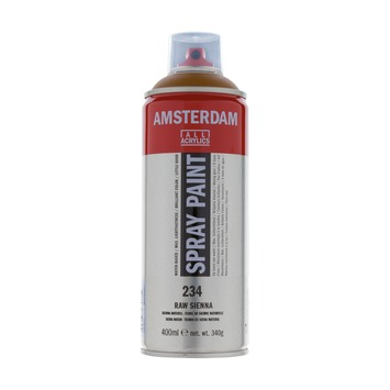Amsterdam verf acrylverfspray sienna naturel 400ml