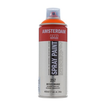 Amsterdam verf acrylverfspray reflexoranje 400ml