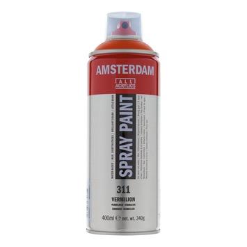 Amsterdam verf acrylverfspray vermiljoen 400ml